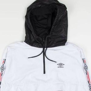 Umbro soccer windbreaker jacket hoodie